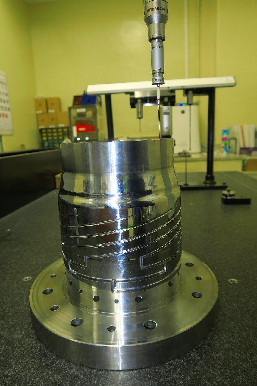 リップ部製品寸法3次元測定