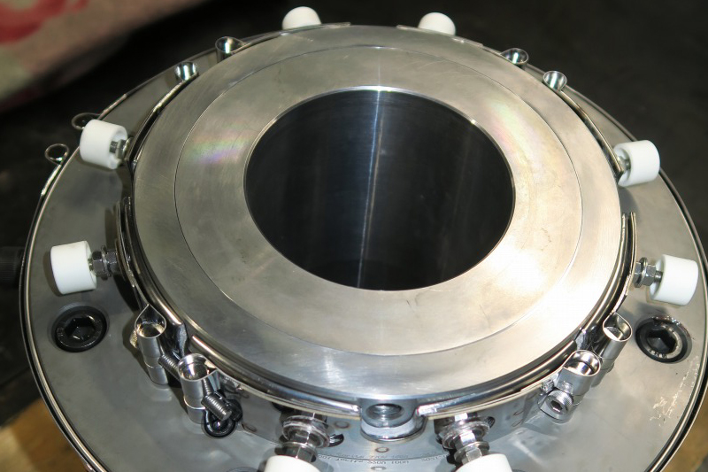 リップクリアランス0.1mmLCP低粘度用単層ダイス